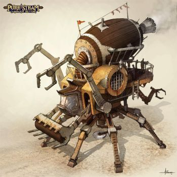 PURE STEAM - Steam Harvester by 47ness