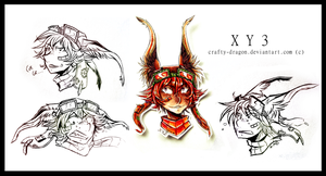 XY3 emotions ::::... by RottenHiro