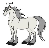 Animal Farm Character Concept: Clover by Jakegothicsnake