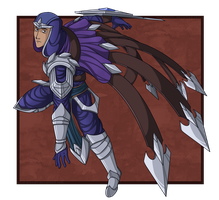 Talon the Blade's Shadow by Nickarooski