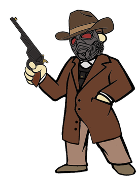 Courier - OC Fallout New Vegas by BigMBIV