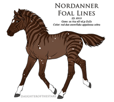 8919 - Nordanner Foal Design by Ikiuni