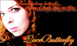 LaceButterfly :banner: by Flarey
