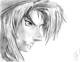 Link drawing from the Twilight Princess cover XD by katz876