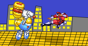 Twinbee Vs. M. Bison by TeamFaustGames
