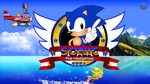 Sonic Title Screen Wallpaper by Silver122