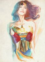 Bridget Regan as WW 001 by NigelHalsey