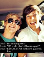 Niall Horan and Louis Tomlinson by 1Dluverrr2708