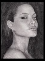 angelina jolie by shtrumphX