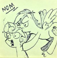 Noms Your Head! by HardCyder