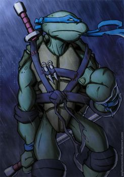 TMNT Leonardo by RecklessHero