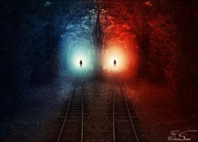 Heaven and Hell by iNeedChemicalX