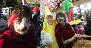 Red Riding Hood Werewolf Halloween Costume 2011 by whyamitheconvict
