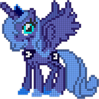 Princess Luna by indidolph