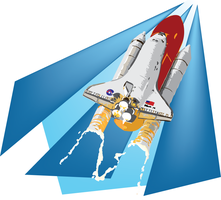 Spot Illustration: Shuttle by Armadria