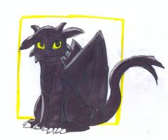 Toothless by Chiipa