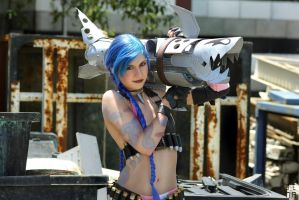 Jinx Cosplay - League of Legends by 2165-4561