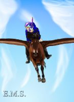 Fly Fly Away... by Sheika-gamergirl