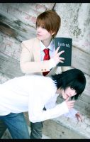 Death Note - antagony by NanjoKoji