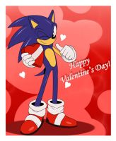 Happy Valentine .:Sonic:. by ss2sonic
