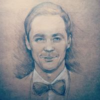 Jim Parsons by DafnaWinchester