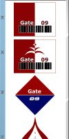 Gate 09 Entries 24 to 31 RD by radiances