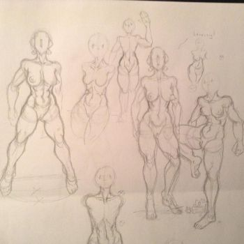 Part five of experimenting with bodies by Chiusan