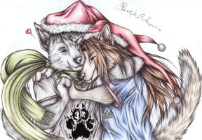 Merry Christmas...color by Elia88