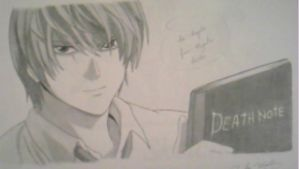 Yagami Light - Death Note by CoolFroggy90