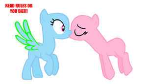 MLP BASE: Kissie! [READ RULES OR U CANT USE] by Ravenslpash26