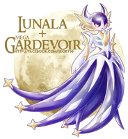Lunala x Mega Gardevoir [closed]