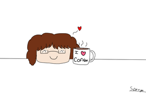 I love coffee- DeviantArt ID V.2 by StarryofWhonime