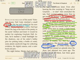 Neil Cady is JOHNNY GHOST!! by PinkHeadPhonez