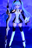 Cyber Miku 2199 [2] by HunterX-v2