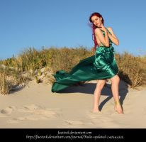 Green Silk 16 by faestock