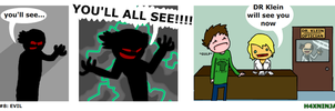 Comic 7: EVIL by H4xNinja