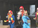 AX 2010: Capt. Falcon + Samus by ShipperTrish