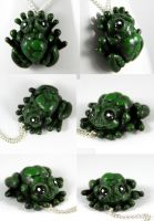 My Frog Prince Necklace by NeverlandJewelry