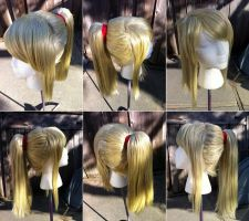 Samus wig from Metroid by taiyowigs