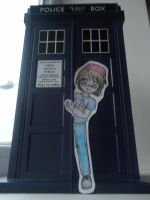 Paper Child: Cay's TARDIS by lillilotus
