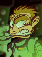 SpaceMonkey by Markside
