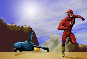 The Fastest Man Alive. by IMForeman