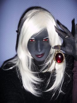 FEMALE DROW by Chaosvin