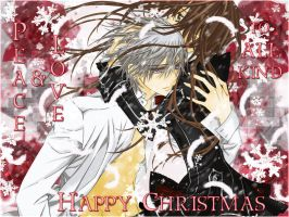 Peace and love Zeki xmas by PK-PSDOL