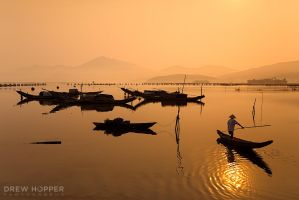 Tam Giang Lagoon by DrewHopper