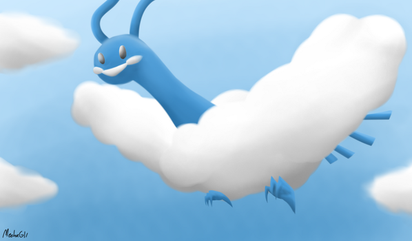 Altaria Painting by MechaG11