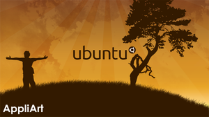 Caring gives Ubuntu by AppliArt