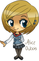 The Walking Dead : Alice Dubois OC by Madolche