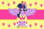 Princess Twilight Sparkle Wallpaper by Luuandherdraws