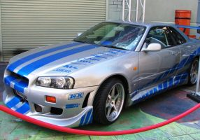 2 Fast 2 Furious Nissan Skyline GT-R by ThexRealxBanks